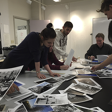 Students Viewing Photography