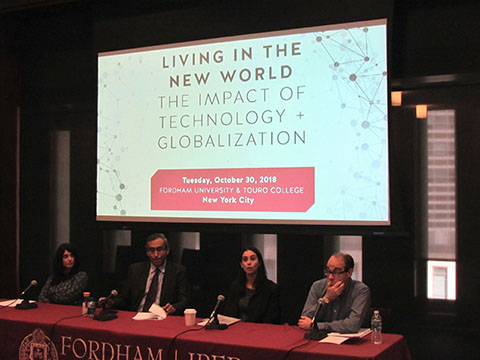 Touro-Fordham Conference Panel 2018