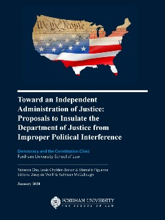 FLS - Democracy Clinic - Toward an independent administration of justice