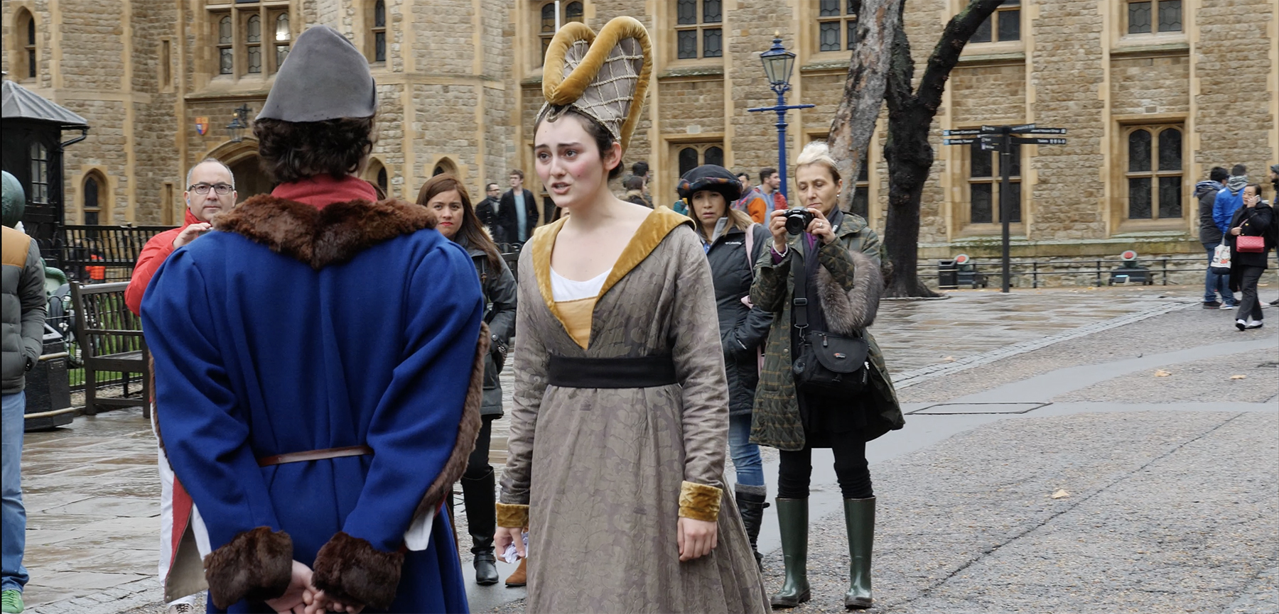 Drama Students Stage Tower of London 'Takeover'