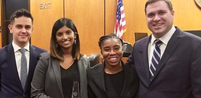 Fordham Law Excels  in Fall Trial Competitions