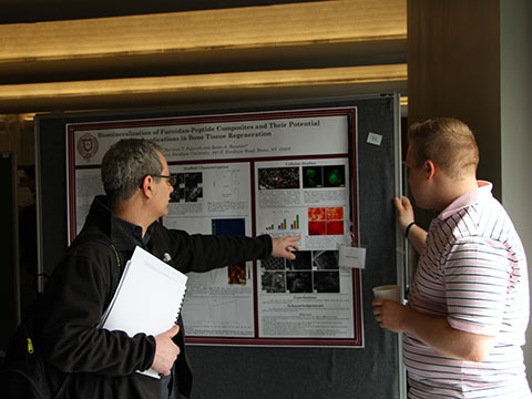 Dr. Robert Beer at Undergraduate Research Symposium