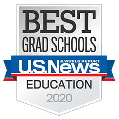 U.S. News grad school of education ranking