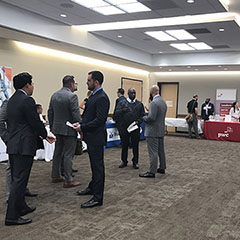 Veterans Internship Fair Attendees - SM