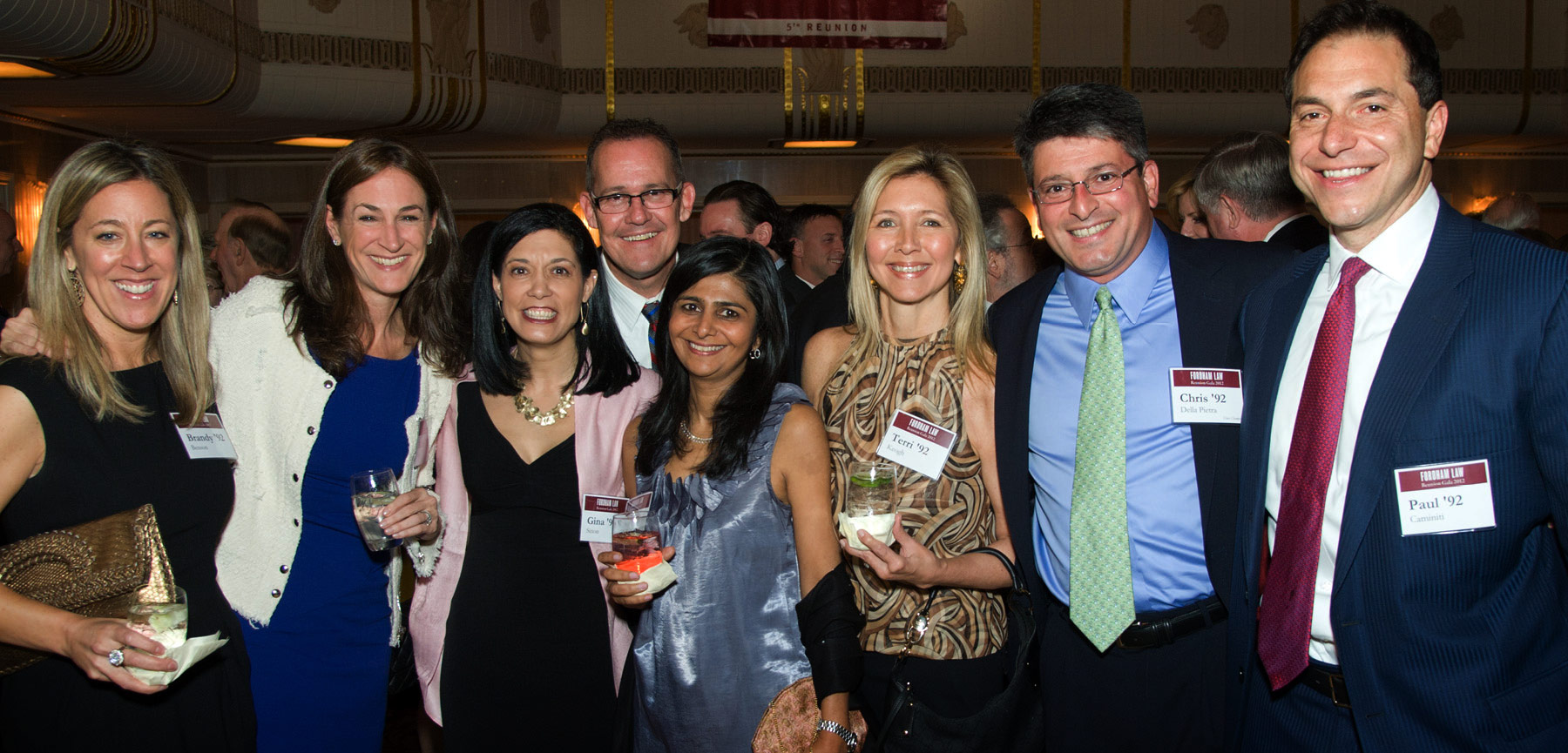 Class of 1992 at the Fordham Law Alumni Association Reunion