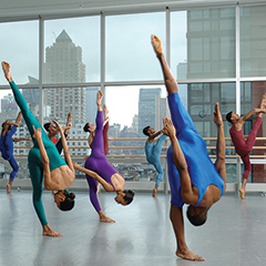 Student at the Alvin Ailey School of Dance