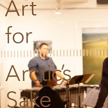 Art for arctic s sake digital project logo