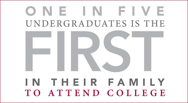 One in Five Undergraduates is the First in Their Family to Attend College