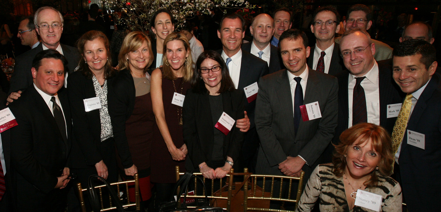 Members of the Class of 1989 at the Fordham Law Alumni Association Annual Luncheon