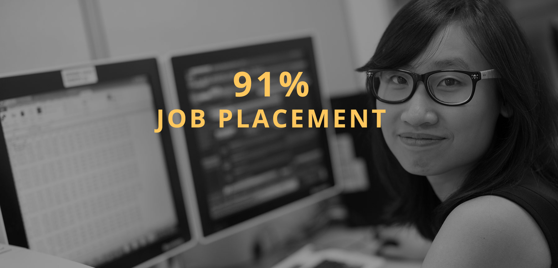 91% job placement