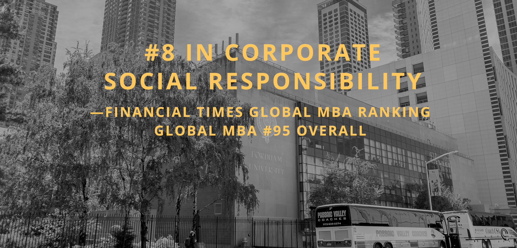 #8 in corporate social responsibility