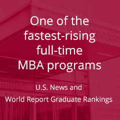 One of the fastest-rising full-time MBA programs