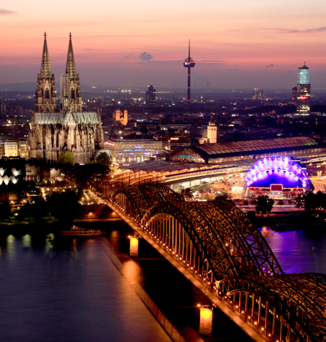 Stock photo of Cologne - LG