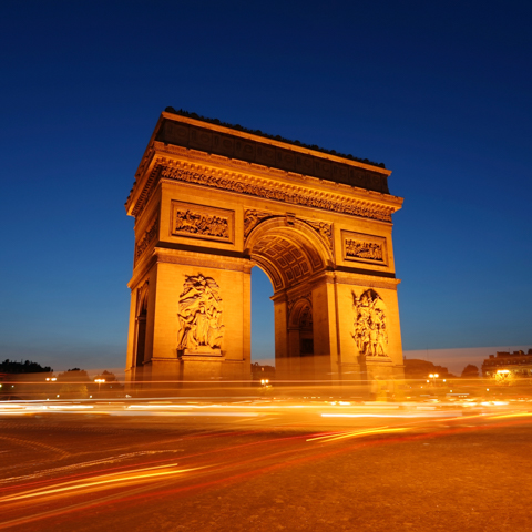 Stock photo of Arc de Triomphe - LG