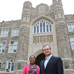 Naila Smith and Joe Vukov - GSAS Fellows