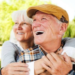 Ravazzin Center on Aging old happy couple