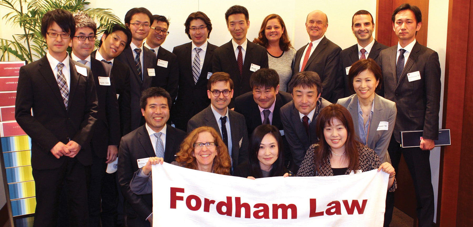 Fordham Law Alumni Association Worldwide Chapters